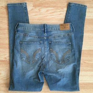 Hollister Super Skinny High Rise Stretch Jeans 5S